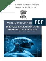 Model Curriculum Handbook Medica