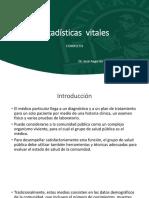 Estadísticas vitales (1)