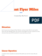frequent flyer miles