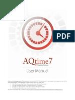 AQtime 7 User Manual