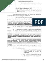 Lei 6677 - Estatuto Do Servidor Público Civil Do Estado Da Bahia