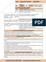 01 Agosto - 4to Grado Español (2018-2019).pdf