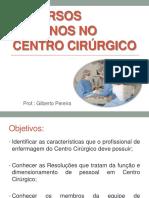 AULA 1 _ Recursos Humanos No Centro Cirúrgico (1)