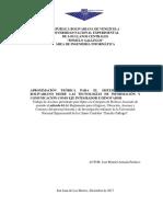 APROXIMACIÓN TEÓRICA PARA EL SISTEMA EDUCATIVO BOLIVARIANO DESDE LAS TECNOLOGÍAS DE INFORMACIÓN Y COMUNICACIÓN COMO EJE INTEGRADOR E INNOVADOR