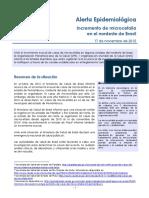 Microcefalia alerta Brasil