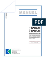Curtis Controller 1205 Manual