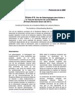 9 Galactogogues Protocol Spanish