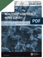 2018 10 Realtors Confidence Index 11-21-2018