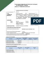 Ficha de Seguimiento Trimestral