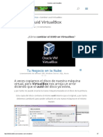 Cambiar Uuid VirtualBox