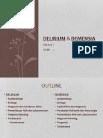 ppt delirium & dimensia