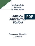 Prision Preventiva Tomo II