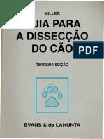Livro Guia Para Dissecacao Do Cao