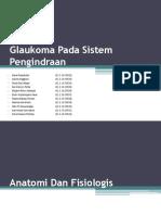 Glaukoma Pada Sistem Pengindraan
