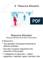 Chapter Resource Allocation