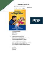 Guía Lenguaje Reforzamiento 1