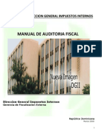 Manual  Básico Auditoria Tributaria DGII