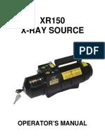 Golden Eng XR150 Xray Machine Manual 2011
