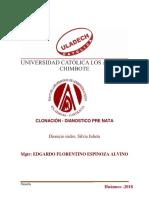 clonacion-DIAGNOSTICO PRENATL