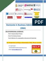 _DBA Interpersonal Leadership (Tesco).docx