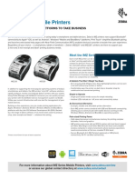 Imz Series Mobile Printers Product Spec Sheet en Us