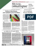 Le Monde Diplomatique - Ao t 2018
