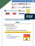 DBA Strategy Roadmap (EBay)