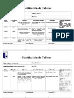 Planificaciones talleres 3 año A .doc