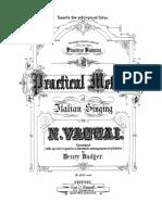 VACCAI Metodo Pratico de Canto Vincenzo Vannini CIFRADO