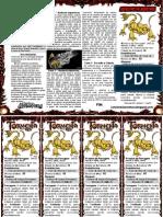 Aventura One page - TormentaRPG + Marcadores