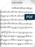 Goldenberg - Short Melodies