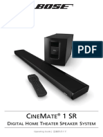 Bose CineMate 1SR