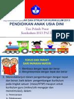 7 Kerangka Dasar Dan Struktur Kurikulum PAUD 2013