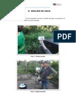 6.- Analisis Agua