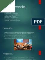 Conferencia presentación