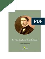 169474691 La Vida Simple de Rene Guenon