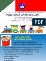 7 Kerangka Dasar dan Struktur Kurikulum PAUD 2013.ppt