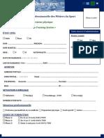 Preparateur Physique CFPMS