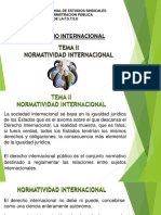 TEMA II Derecho Internacional