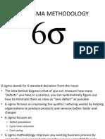 2. Six Sigma Methodology