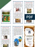 Triptico Santa Maria y Jesus Agroindustria