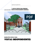 1 - Narrativa Social Para Visitas Independientes