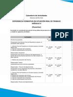 Calendario  Documentos Pasantia.pdf