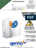 Manual Electrificador Genno Impacto