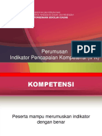 2.1..a PPT Perumusan Indikator Kompetensi