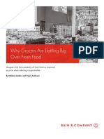 BAIN BRIEF Why Grocers Are Battling Big Over Fresh Food