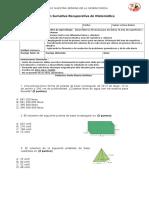 Evaluación Recuperativa 8 Volumen