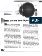 how do we see objects