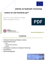 Lithology controls hydraulic farctures