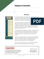 Mining Due Diligence Checklist.v1.0